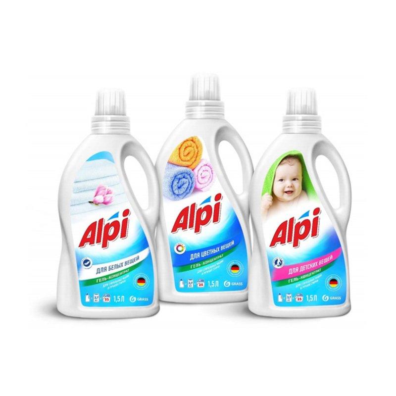Гель-концентрат для белых вещей «ALPI» 1,5л.